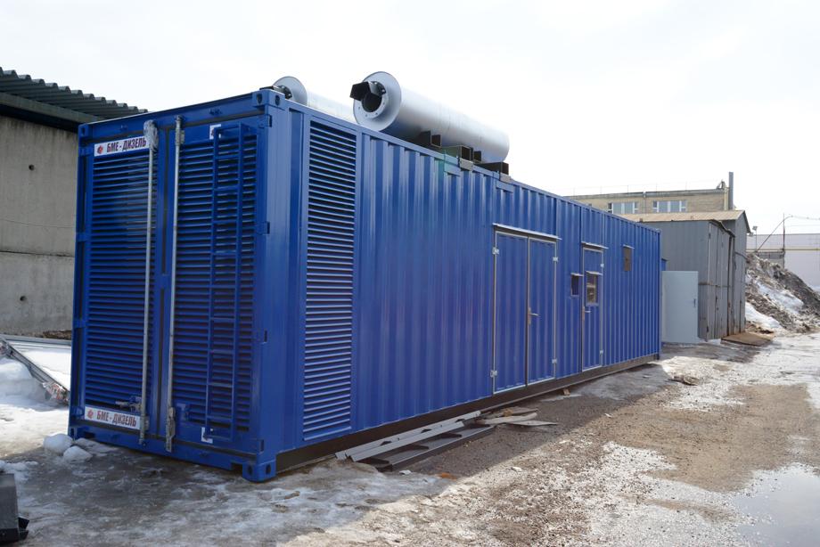 Дизельный генератор для Чижовка-арена