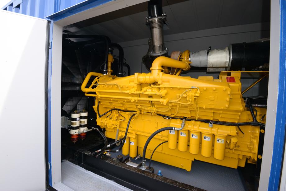 Дизельный генератор с двигателем Cummins в контейнере