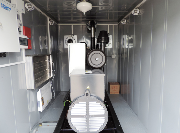 Дизель-генератор в контейнере